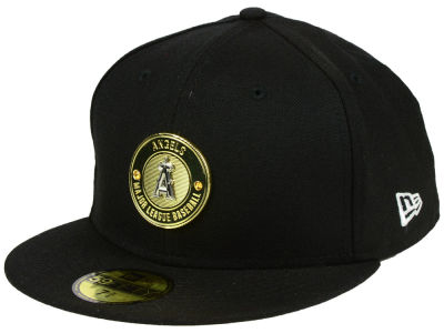 Los Angeles Angels New Era MLB Inner Gold Circle 59FIFTY Cap