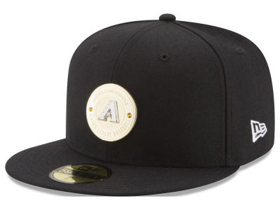 Arizona Diamondbacks New Era MLB Inner Gold Circle 59FIFTY Cap