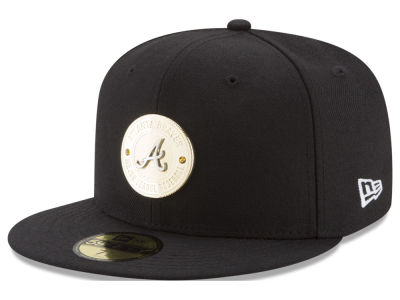 Atlanta Braves New Era MLB Inner Gold Circle 59FIFTY Cap