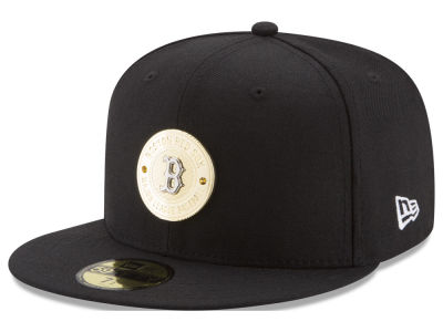 Boston Red Sox New Era MLB Inner Gold Circle 59FIFTY Cap