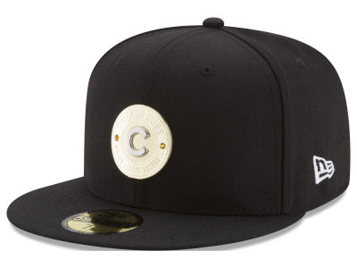 Chicago Cubs New Era MLB Inner Gold Circle 59FIFTY Cap