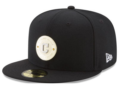 Cleveland Indians New Era MLB Inner Gold Circle 59FIFTY Cap