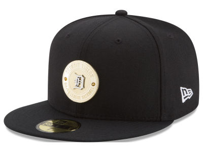 Detroit Tigers New Era MLB Inner Gold Circle 59FIFTY Cap