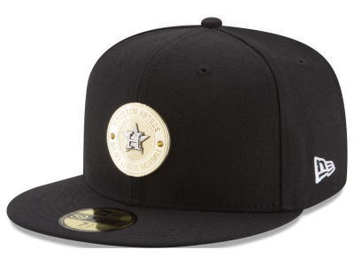 Houston Astros New Era MLB Inner Gold Circle 59FIFTY Cap