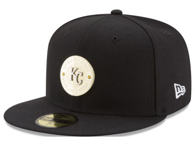 Kansas City Royals New Era MLB Inner Gold Circle 59FIFTY Cap