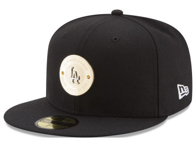 Los Angeles Dodgers New Era MLB Inner Gold Circle 59FIFTY Cap