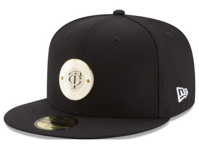 Minnesota Twins New Era MLB Inner Gold Circle 59FIFTY Cap