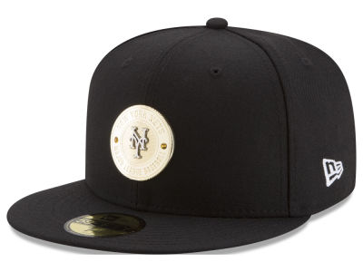New York Mets New Era MLB Inner Gold Circle 59FIFTY Cap