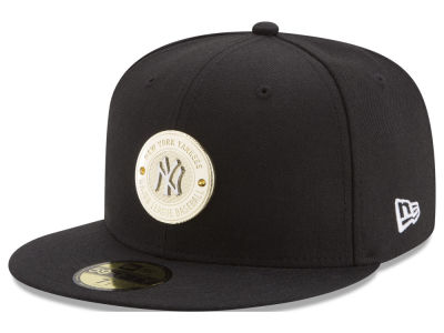 New York Yankees New Era MLB Inner Gold Circle 59FIFTY Cap