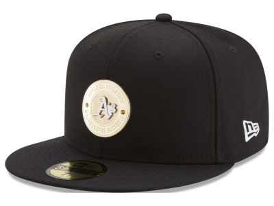 Oakland Athletics New Era MLB Inner Gold Circle 59FIFTY Cap