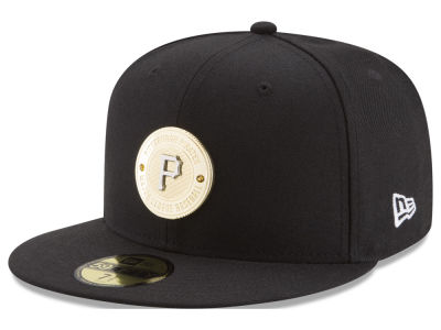 Pittsburgh Pirates New Era MLB Inner Gold Circle 59FIFTY Cap