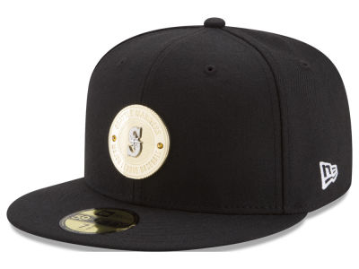 Seattle Mariners MLB Inner Gold Circle 59FIFTY Cap
