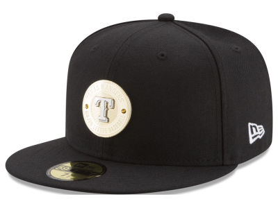 Texas Rangers New Era MLB Inner Gold Circle 59FIFTY Cap