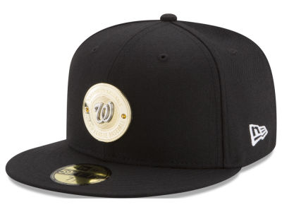 Washington Nationals New Era MLB Inner Gold Circle 59FIFTY Cap