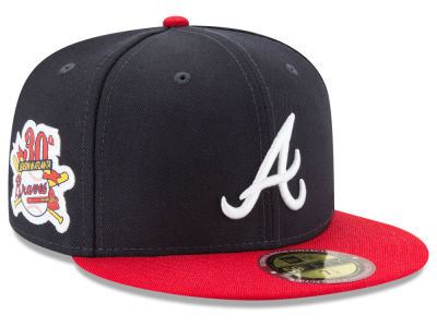 Atlanta Braves New Era MLB Ultimate Patch Collection Game 59FIFTY Cap