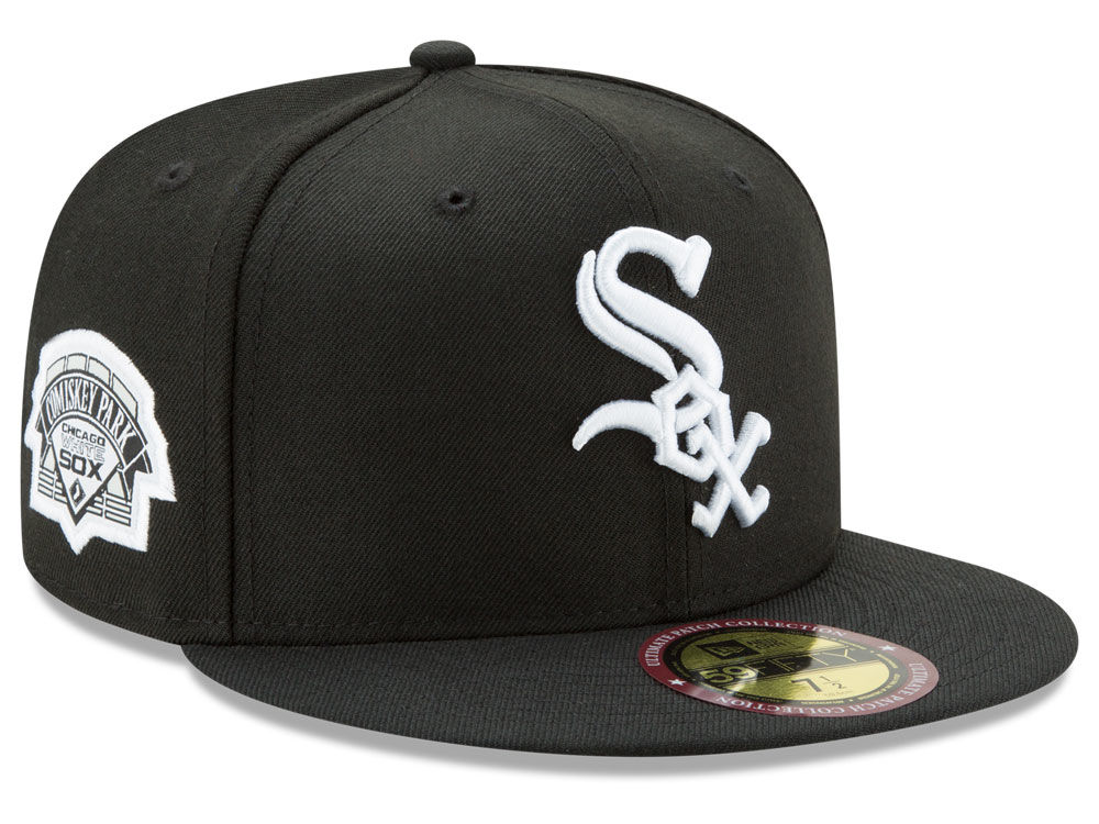 Chicago White Sox New Era MLB Ultimate Patch Collection Game 59FIFTY Cap  7164b61e07f6