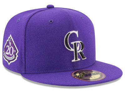 Colorado Rockies New Era MLB Ultimate Patch Collection Game 59FIFTY Cap