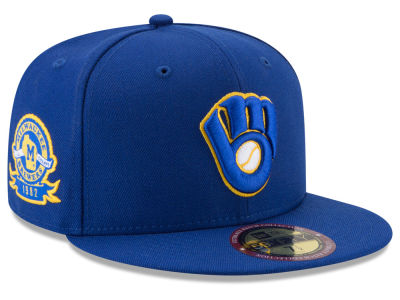 Milwaukee Brewers New Era MLB Ultimate Patch Collection Game 59FIFTY Cap