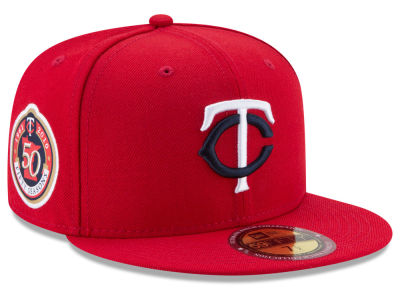 Minnesota Twins New Era MLB Ultimate Patch Collection Game 59FIFTY Cap