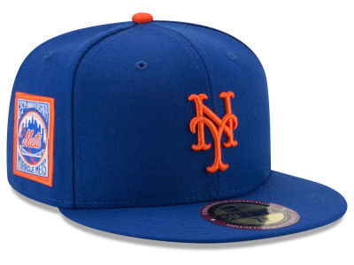 New York Mets New Era MLB Ultimate Patch Collection Game 59FIFTY Cap