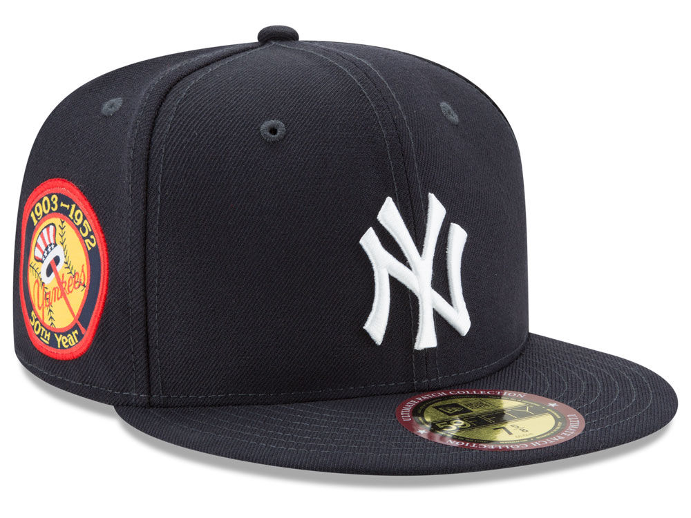 New York Yankees New Era MLB Ultimate Patch Collection Game 59FIFTY Cap  af5a2d579697