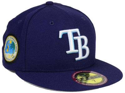 Tampa Bay Rays New Era MLB Ultimate Patch Collection Game 59FIFTY Cap