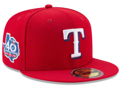 Texas Rangers New Era MLB Ultimate Patch Collection Game 59FIFTY Cap