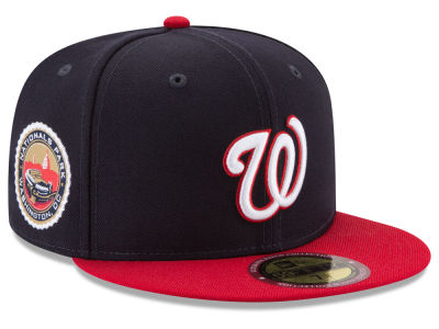 Washington Nationals New Era MLB Ultimate Patch Collection Game 59FIFTY Cap