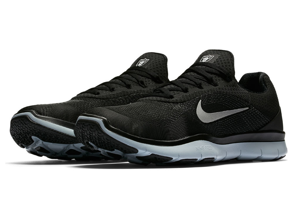 33c963c730e Oakland Raiders Nike NFL Free Trainer V7 Week Zero Shoes
