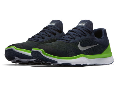 Seattle Seahawks Nike NFL Free Trainer V7 Week Zero Shoes
