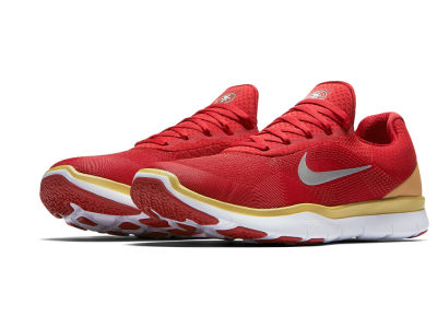 San Francisco 49ers Nike NFL Free Trainer V7 Week Zero Shoes