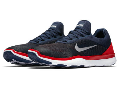 New England Patriots Nike NFL Free Trainer V7 Week Zero Shoes