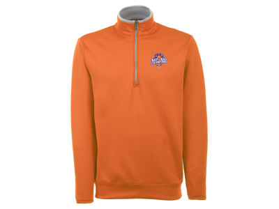 Clemson Tigers Antigua NCAA Men's National Champs Leader 1/4 Zip Pullover