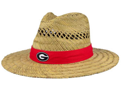 Georgia Bulldogs Top of the World NCAA Sun Shade Straw Hat