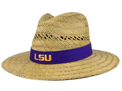 LSU Tigers Top of the World NCAA Sun Shade Straw Hat