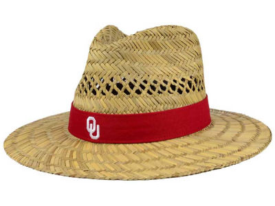 Oklahoma Sooners Top of the World NCAA Sun Shade Straw Hat