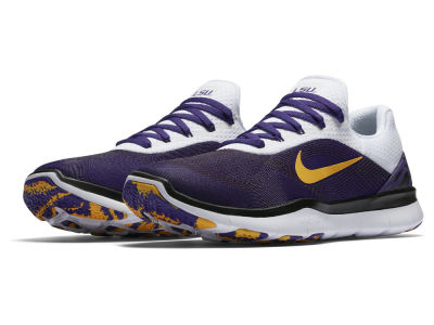 LSU Tigers Nike NCAA Free Trainer V7 Week Zero Shoes