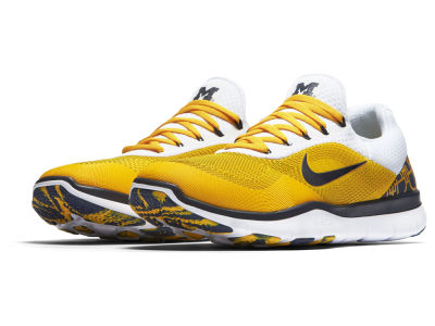 Michigan Wolverines Nike NCAA Free Trainer V7 Week Zero Shoes