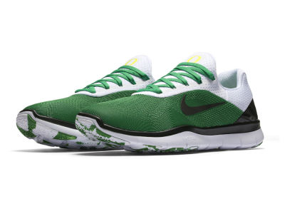 Oregon Ducks Nike NCAA Free Trainer V7 Week Zero Shoes