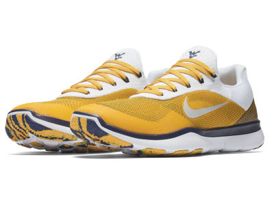 West Virginia Mountaineers Nike NCAA Free Trainer V7 Week Zero Shoes