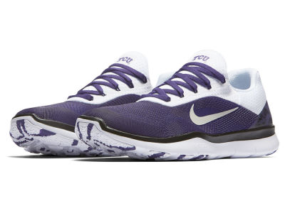 Texas Christian Horned Frogs Nike NCAA Free Trainer V7 Week Zero Shoes