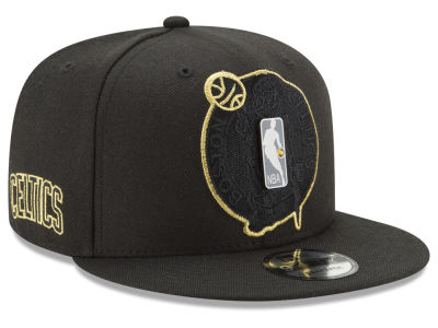 Boston Celtics New Era NBA Playoff Push 9FIFTY Snapback Cap