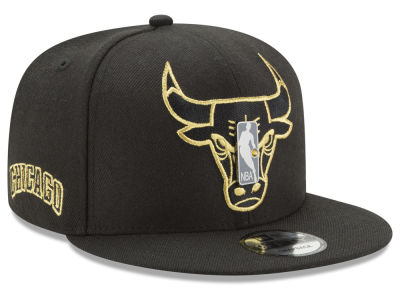 Chicago Bulls New Era NBA Playoff Push 9FIFTY Snapback Cap