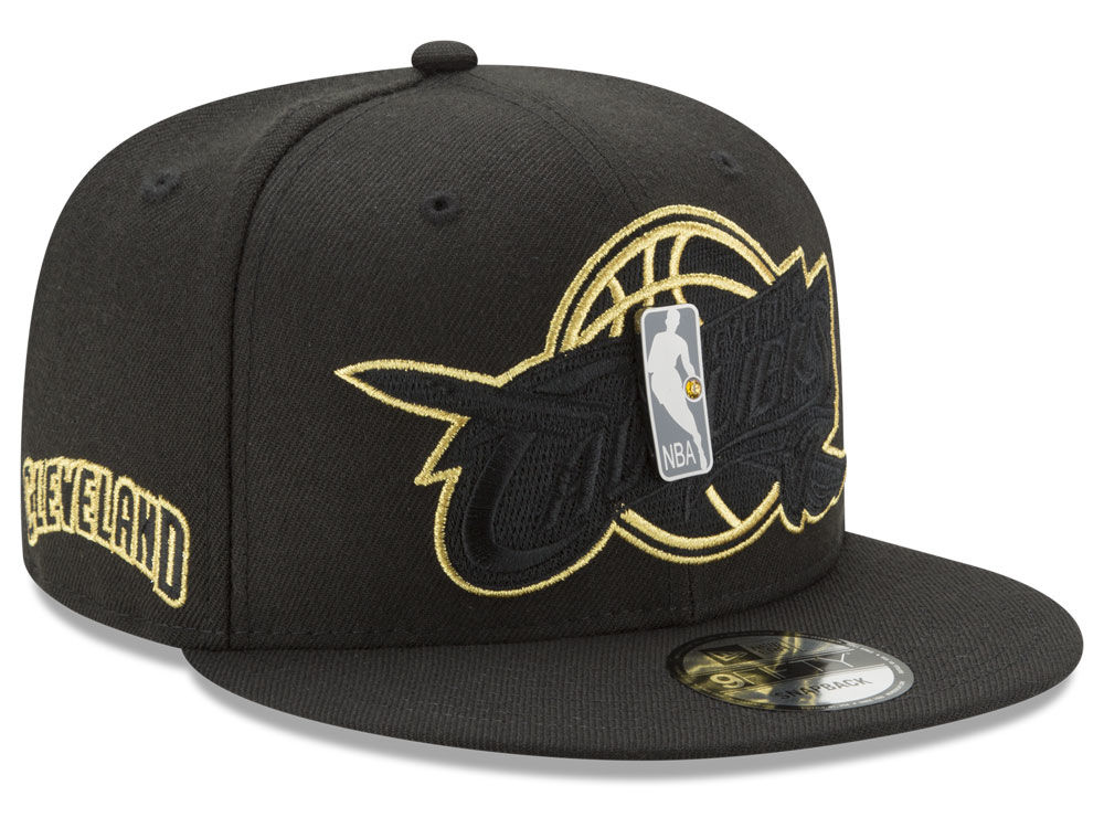 Cleveland Cavaliers New Era NBA Playoff Push 9FIFTY Snapback Cap ... 5ebc639ad262