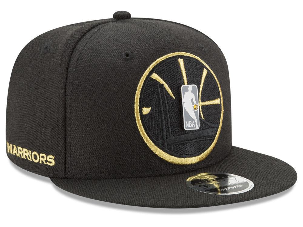 Golden State Warriors New Era NBA Playoff Push 9FIFTY Snapback Cap ... b4c9275d7f1