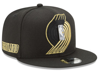 Portland Trail Blazers New Era NBA Playoff Push 9FIFTY Snapback Cap