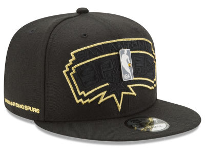 San Antonio Spurs New Era NBA Playoff Push 9FIFTY Snapback Cap