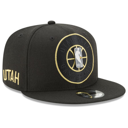 Utah Jazz New Era NBA Playoff Push 9FIFTY Snapback Cap
