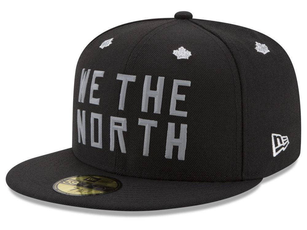 572e9abb454 Toronto Raptors New Era NBA We The North Collection Bevel 59FIFTY Cap