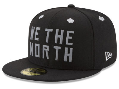 Toronto Raptors New Era NBA We The North Collection Bevel 59FIFTY Cap